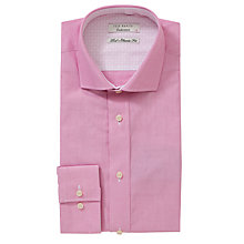 Buy Ted Baker Endurance Antonio Long Sleeve Shirt, Pink Online at johnlewis.com