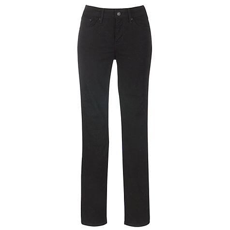 Buy Levi's Curve ID - Demi Curve Slim Leg Jeans, Pitch Black Online at johnlewis.com