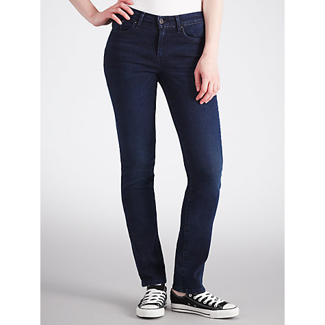 Buy Levi's Curve ID - Slight Curve Slim Leg Jeans, Indigo Love Online at johnlewis.com