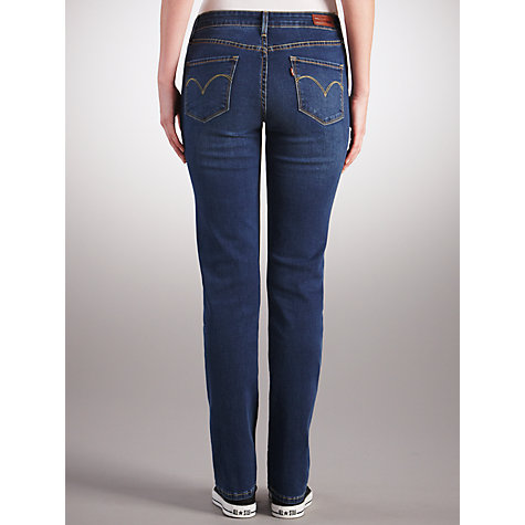 Buy Levi's Curve ID - Slight Curve Straight Leg Jeans, Downpour Online at johnlewis.com