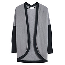 Buy Farhi by Nicole Farhi Cashmere Blend Twist Stripe Cardigan, Navy/Almond Online at johnlewis.com