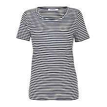 Buy Farhi by Nicole Farhi Classic Round Neck T-shirt Online at johnlewis.com