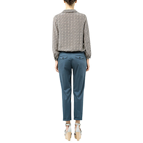 Buy Farhi by Nicole Farhi Long Sleeve Tile Print Blouse Online at johnlewis.com