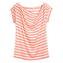 Buy Farhi by Nicole Farhi Striped Cowl Neck Top Online at johnlewis.com