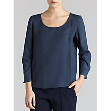 Buy Farhi by Nicole Farhi Linen Long Sleeve Top Online at johnlewis.com