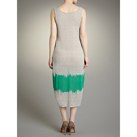 Buy Crea Concept Tie Dye Dress, Grey/Green Online at johnlewis.com