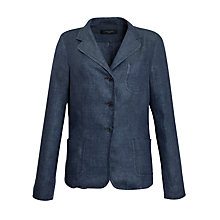 Buy Weekend by MaxMara Linen Jacket, Navy Online at johnlewis.com