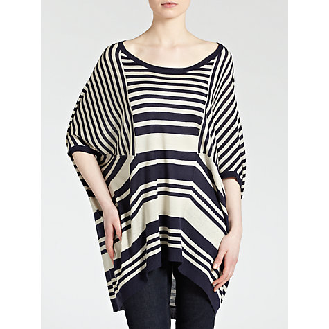Buy Weekend by MaxMara Oversized Stripe Jumper Online at johnlewis.com