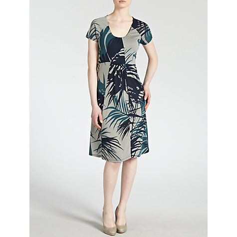 Buy Weekend by MaxMara Tropical Print Jersey Dress Online at johnlewis.com