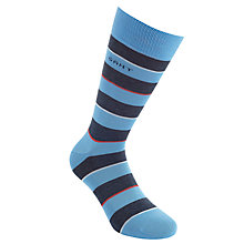 Buy Gant Block Stripe Socks Online at johnlewis.com