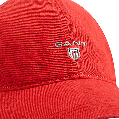 Buy Gant Basic Twill Cap Online at johnlewis.com