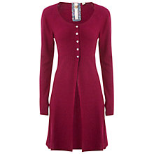 Buy White Stuff Chirpy Cardigan, Bordeaux Online at johnlewis.com