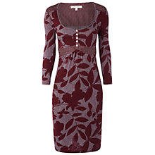 Buy White Stuff Cinnamon Swirl Dress, Bordeaux Online at johnlewis.com