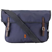 Buy Ben Sherman Lightweight Messenger Bag, Navy Online at johnlewis.com