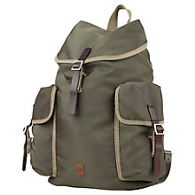 Buy Ben Sherman Pack Backpack, Green Online at johnlewis.com