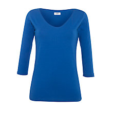 Buy Crea Concept Scooped Neck Top Online at johnlewis.com