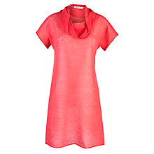 Buy Crea Concept Linen Tunic Top, Coral Online at johnlewis.com
