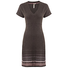 Buy White Stuff Compton Knitted Dress, Dark Cocoa Online at johnlewis.com
