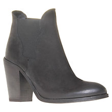 Buy Carvela Standard Leather High Block Heel Ankle Boots Online at johnlewis.com