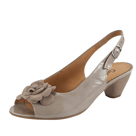 Buy Gabor Aroma Leather Sandals Online at johnlewis.com