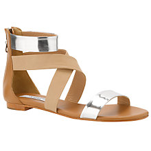 Buy COLLECTION by John Lewis Mendler Sandals, Nude/Silver Online at johnlewis.com