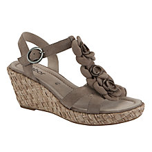 Buy Gabor Ingelby Suede Leather Sandal Online at johnlewis.com