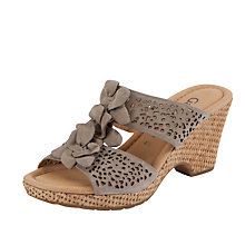 Buy Gabor Pickwick Nubuck Leather Sandal Online at johnlewis.com
