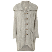 Buy White Stuff Gracious Cardigan, Almond Online at johnlewis.com