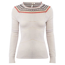 Buy White Stuff Juniper Jumper, Almond Online at johnlewis.com