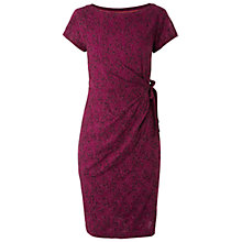 Buy White Stuff Great Escape Dress, Bordeaux Online at johnlewis.com