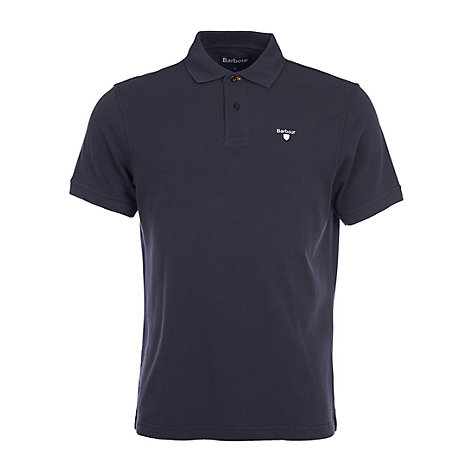 Buy Barbour Sports Cotton Short Sleeve Polo Shirt Online at johnlewis.com