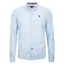 Buy Canterbury Clinton Oxford Long Sleeve Shirt, Sky Online at johnlewis.com