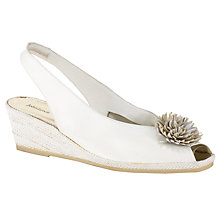 Buy John Lewis Rose Leather Slingback Court Shoes Online at johnlewis.com
