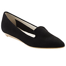 Buy COLLECTION by John Lewis Wilde Point Toe Loafers, Black Online at johnlewis.com