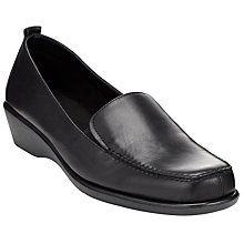 Buy John Lewis Designed for Comfort Eagle Wedge Heel Mocassins Online at johnlewis.com