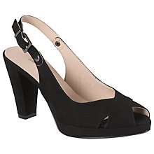 Buy John Lewis Paige River Suede Slingback Court Shoes Online at johnlewis.com