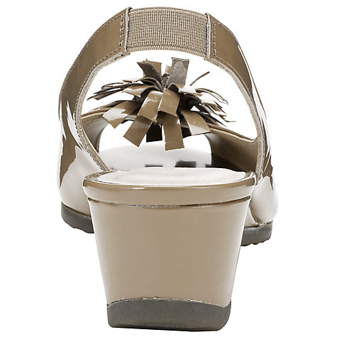 Buy John Lewis Designed for Comfort Mallard Flower Slingback Sandals Online at johnlewis.com