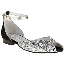 Buy COLLECTION by John Lewis Hudgens Glitter Court Shoes Online at johnlewis.com