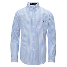 Buy Gant Striped Beach Poplin Long Sleeved Shirt Online at johnlewis.com