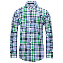 Buy Gant Laundered Poplin Long Sleeved Shirt Online at johnlewis.com