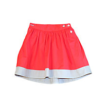 Buy Petit Bateau Turbigo Woven Skirt, Red Online at johnlewis.com
