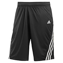 Buy Adidas Response Bermuda Tennis Shorts, Black/White Online at johnlewis.com