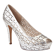 Buy COLLECTION by John Lewis Winslet Leather Cut-Out Detail Court Shoes Online at johnlewis.com