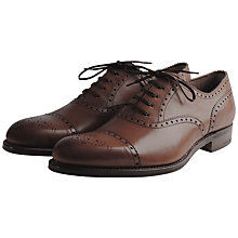 Buy Grenson Tom Leather Brogue Oxford Shoes Online at johnlewis.com