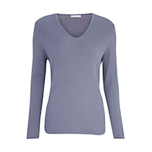 Buy Windsmoor Cable Knitted Jumper, Light Blue Online at johnlewis.com