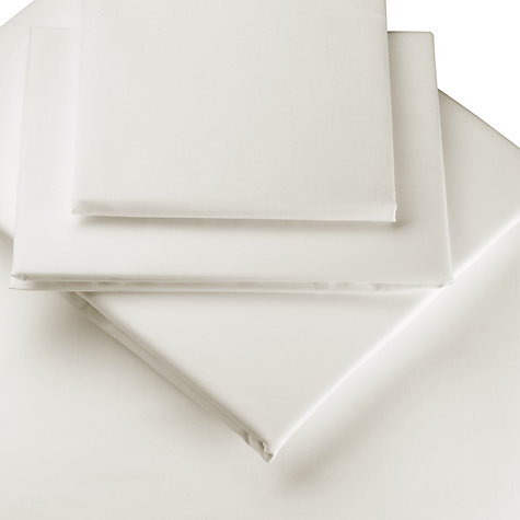 Buy John Lewis 600 Thread Count Cotton Sateen Fitted Sheet Online at johnlewis.com