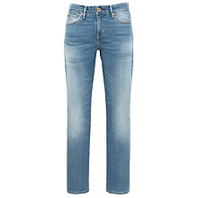Buy Levi's Curve ID - Demi Curve Slim Leg Jeans, Medium Bleeched Online at johnlewis.com