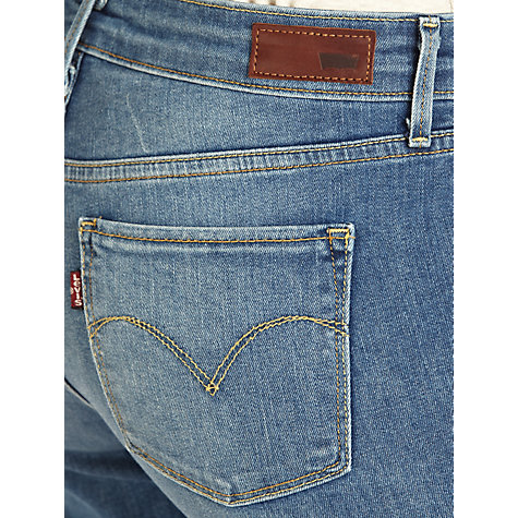 Buy Levi's Curve ID - Slight Curve Slim Leg Jeans, Medium Bleached Online at johnlewis.com
