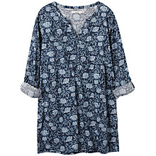 Buy Seasalt Sandrine Tunic Top, Elderflower Orca Print Online at johnlewis.com