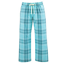 Buy DKNY Capri Checked Pyjama Bottoms, Riveria Online at johnlewis.com